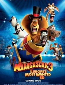 Madagascar europe's most wanted 3d
